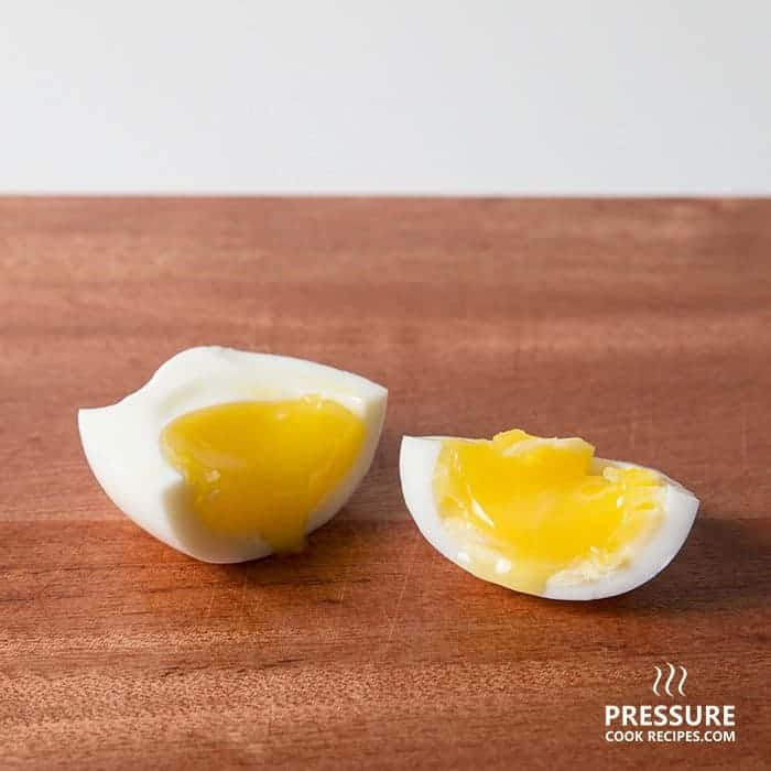 7 minutes pressure cooker soft medium boiled egg pressurecookrecipes.com