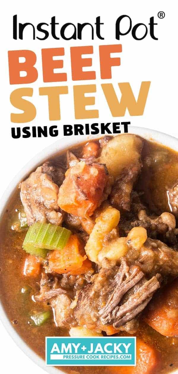 Instant Pot Beef Stew | Pressure Cooker Beef Stew | Instant Pot Beef | Pressure Cooker Beef | Beef Brisket | Instant Pot Recipes | Pressure Cooker Recipes #instantpot #pressurecooker #beef #recipes