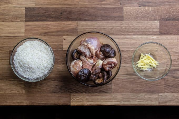 one pot chinese pressure cooker chicken and rice ingredients