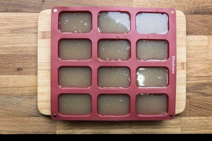 How to Make Instant Pot Chicken Stock Freezer Silicone Mold