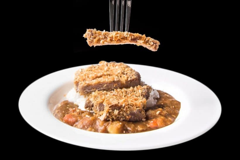Instant Pot Curry: Pressure Cooker Japanese Katsu Curry (Tonkatsu) meal. Juicy, tender pork chops coated with toasted breadcrumbs, paired with sweet Japanese curry over rice.
