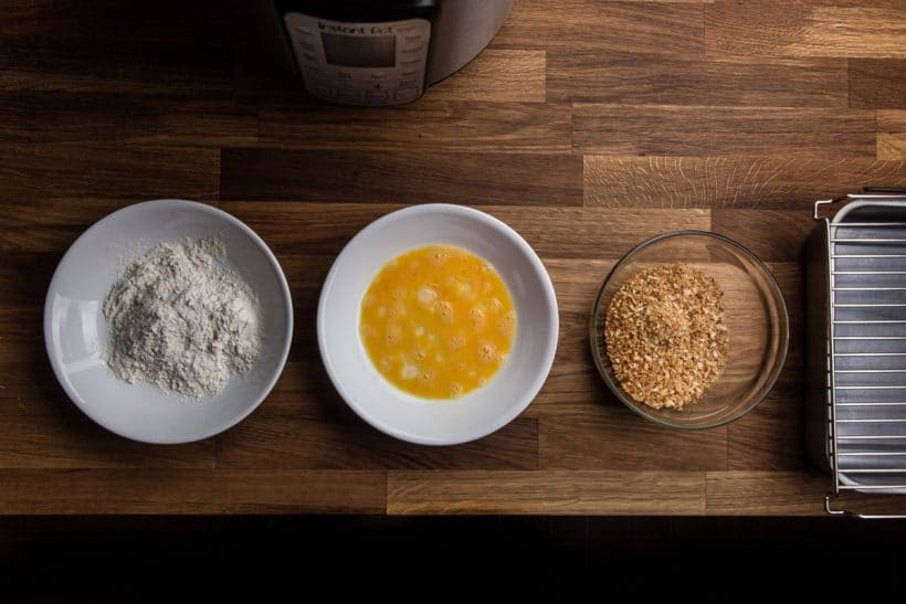 Katsu Curry Recipe Japanese Curry rice with Tonkatsu pork chops egg wash ingredients