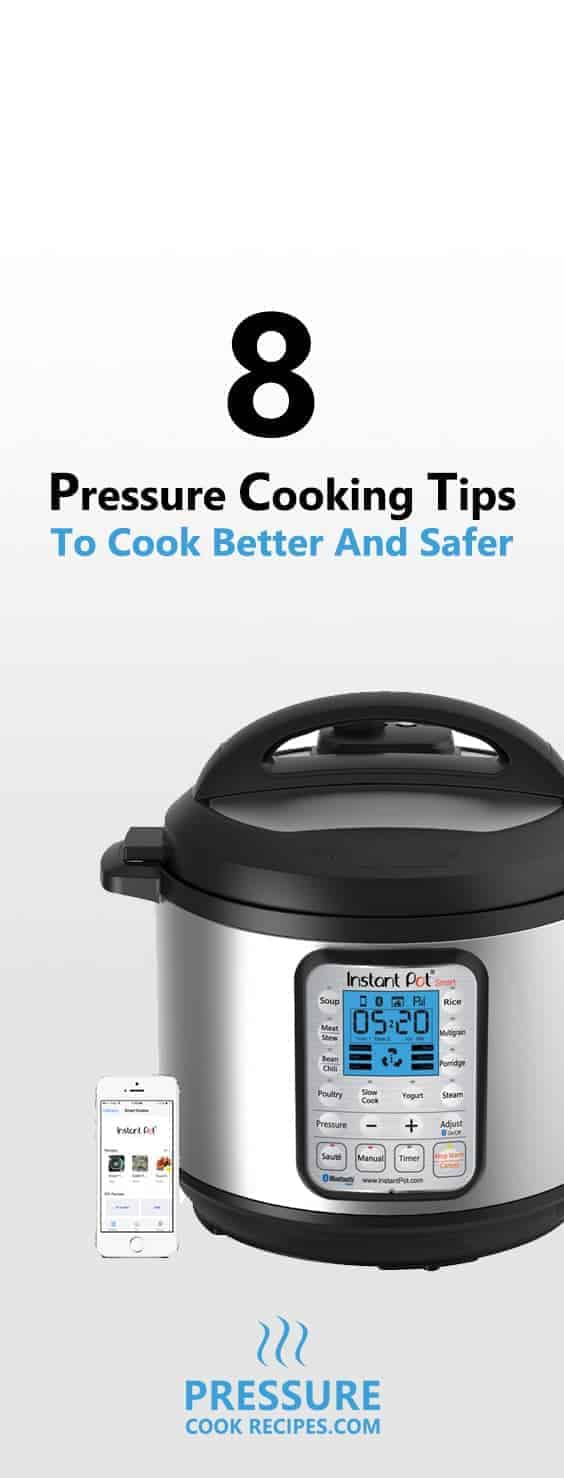 We LOVE pressure cooking as it makes amazing food fast. Here are 8 Useful Tips for Cooking with a Pressure Cooker that will help you cook better and safer!
