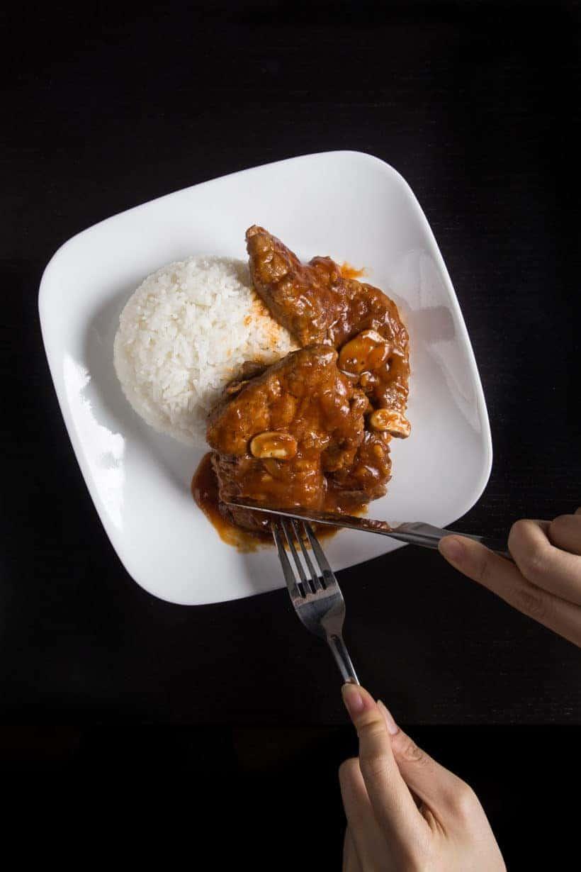 Instant Pot HK Tomato Pork Chops | Tested by Amy + Jacky