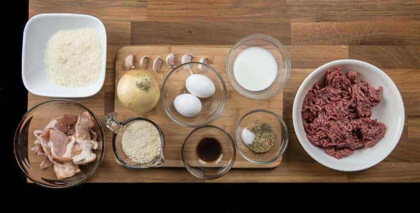 Instant Pot Meatloaf (Pressure Cooker Meatloaf Recipe) Ingredients