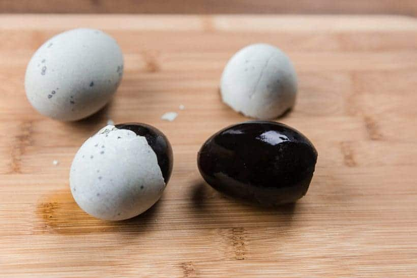 century egg 皮蛋, pidan, preserved egg, hundred-year egg, thousand-year egg