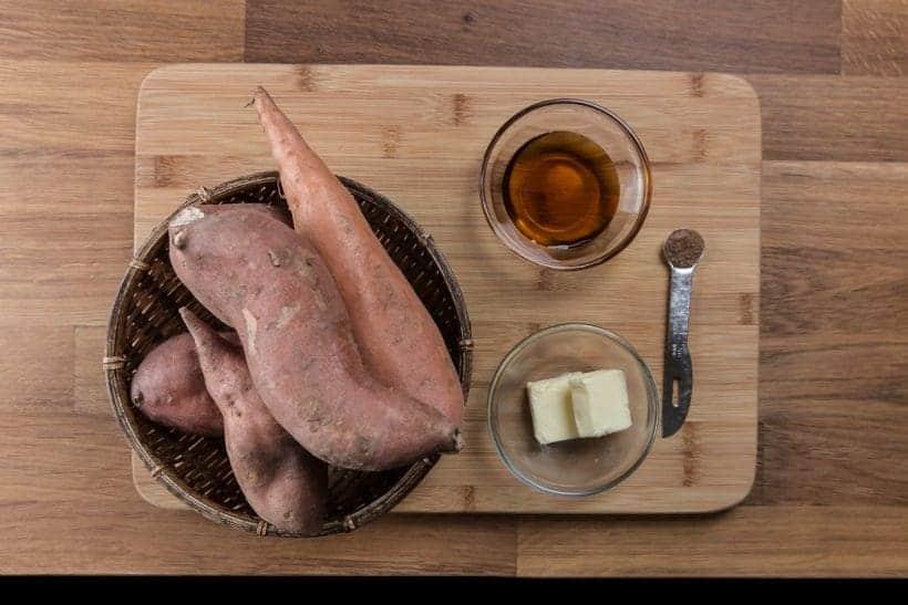 Creamy Pressure Cooker Mashed Sweet Potatoes Recipe Ingredients