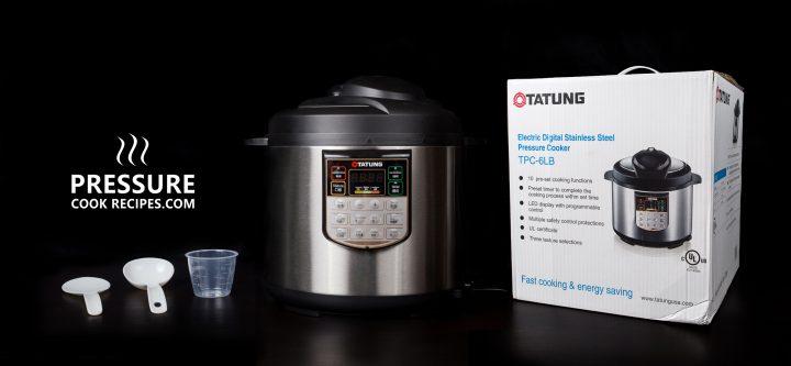 Tatung TPC-6LB 6 Liters Electric Pressure Cooker Product Review