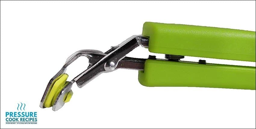 TOPOKO Green Stainless Steel Retriever Tongs / Gripper Clip for Hot and Cold Plate, Bowl, Dish,...