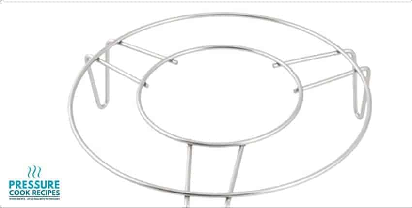 Household Stainless Steel Cooking Ware Steaming Rack Stand 7' Diameter