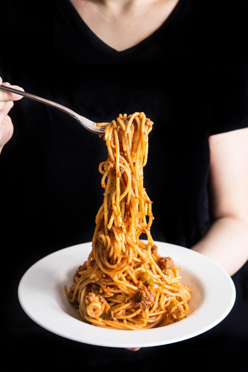 Instant Pot Spaghetti | Instant Pot Spaghetti Bolognese | Pressure Cooker Spaghetti | Pressure Cooker Spaghetti Bolognese | Instant Pot Pasta | Pressure Cooker Pasta | Instant Pot Recipes | One Pot Meals | Meat Sauce #instantpot #pressurecooker #recipes #easydinner #dinner