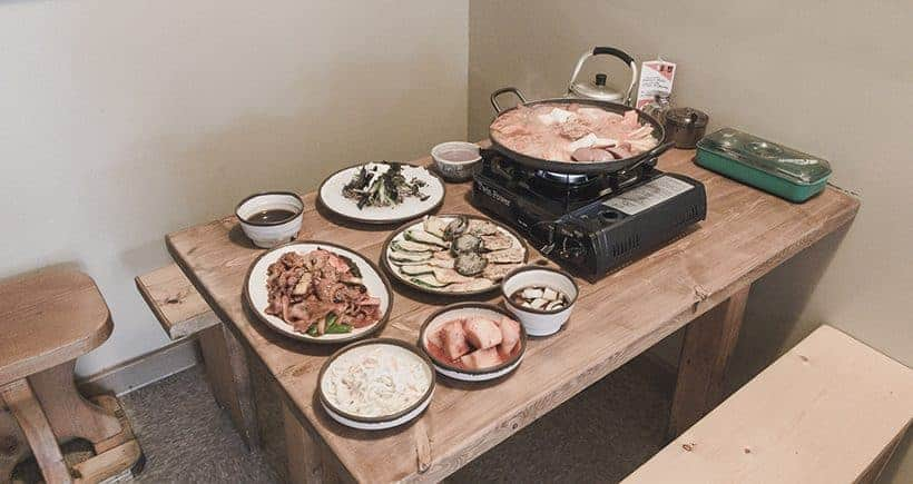 Authentic traditional Korean food served by our restaurant client