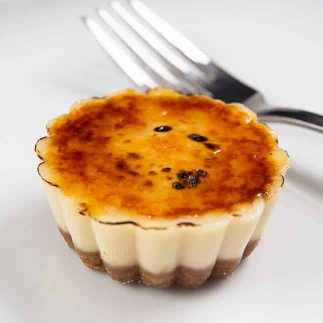Instant Pot Fourth of July Recipes (Pressure Cooker Fourth of July Recipes): Instant Pot Cheesecake Creme Brulee Bites Recipe