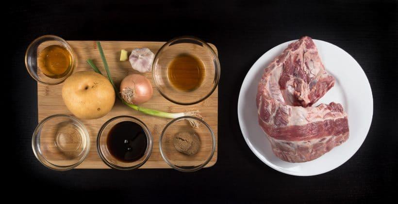 Pressure Cooker Korean Ribs Recipe Ingredients