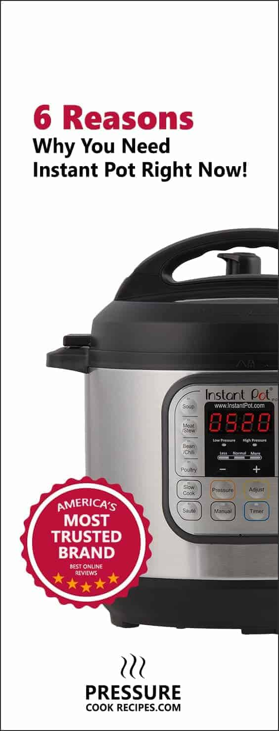 If you want to cook faster, healthier & easier, buying Instant Pot Electric Pressure Cooker may change your life! Check out how.