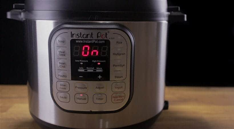 Instant Pot Water Test Heating Cycle