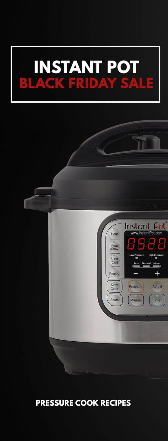 Instant Pot Black Friday Deals (Instant Pot Sale) for 6-Quart Instant Pot IP-DUO60 7-in-1 Programmable Electric Pressure Cooker!