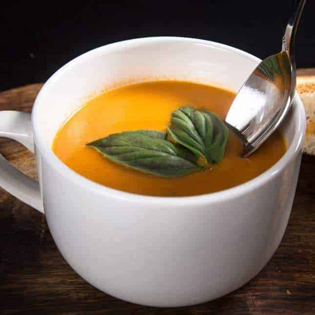 Instant Pot Thanksgiving Recipes (Pressure Cooker Thanksgiving Recipes): Instant Pot Tomato Soup Recipe