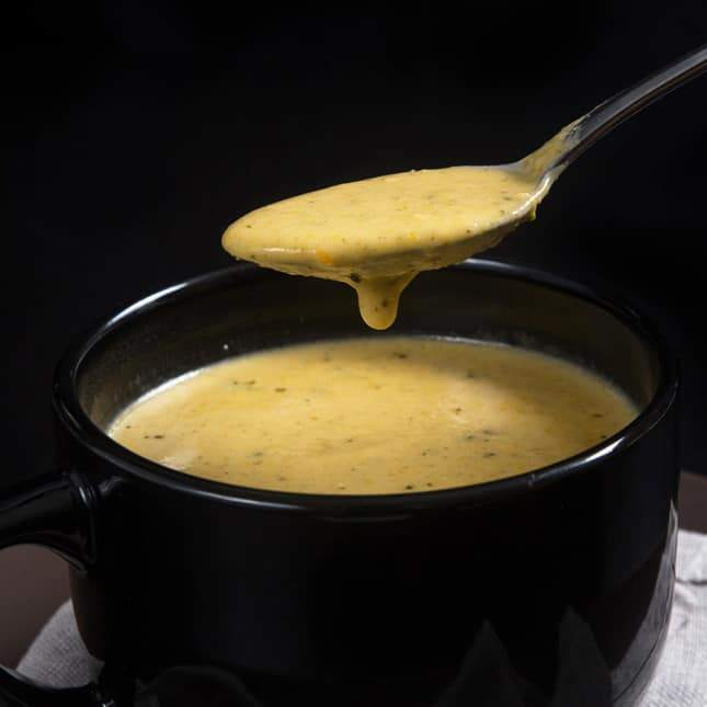 Instant Pot Thanksgiving Recipes: Instant Pot Broccoli Cheese Soup (Pressure Cooker Broccoli Cheese Soup)