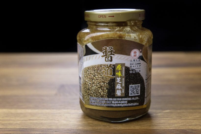 Chinese sesame paste/sauce 芝麻醬