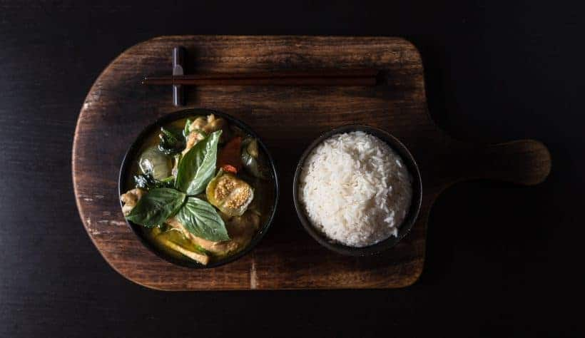 Make this Instant Pot Thai Green Curry Chicken Recipe (Gang Kiew Wan Gai). Addictive to eat pressure cooker curry with rich depths of flavors & fragrance.