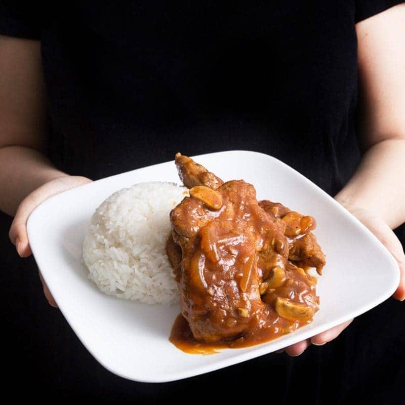 Best Pressure Cooker Recipes: Instant Pot Pork Chops with HK Tomato Sauce Recipe