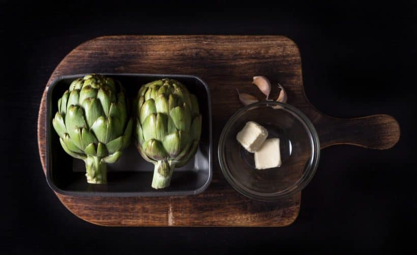 Instant Pot Artichokes Recipe Ingredients