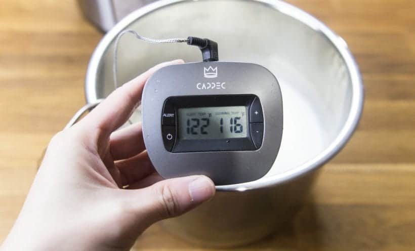 Instant Pot Cooling Milk Temperature