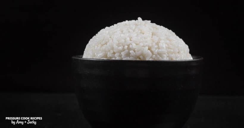 Perfect Instant Pot Calrose Rice Recipe (Pressure Cooker Medium Grain Calrose Rice): Super easy to make Asian-approved Calrose rice in less than 30 mins!
