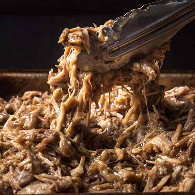 Instant Pot Fourth of July Recipes (Pressure Cooker Fourth of July Recipes): Instant Pot Pulled Pork in M&M Sauce