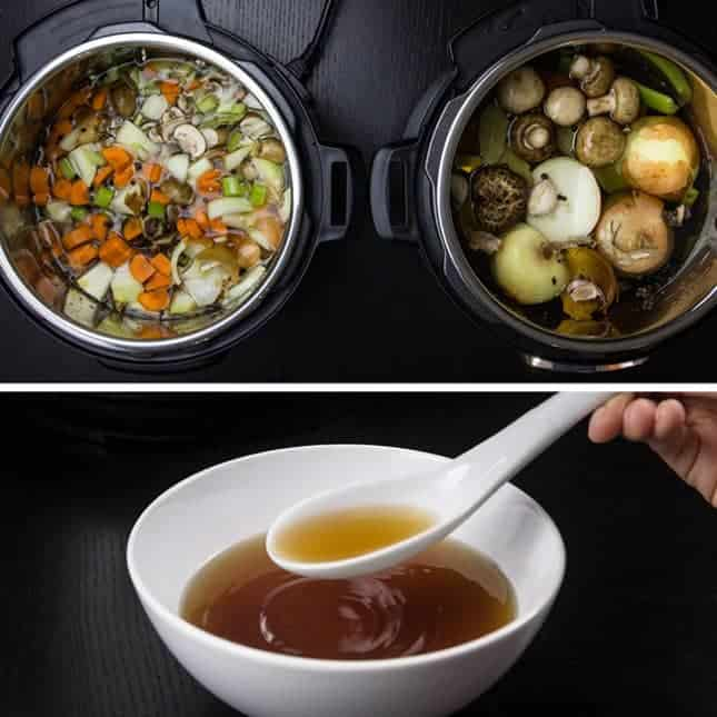 Pressure Cooker Vegetable Recipes: Instant Pot Vegetable Stock