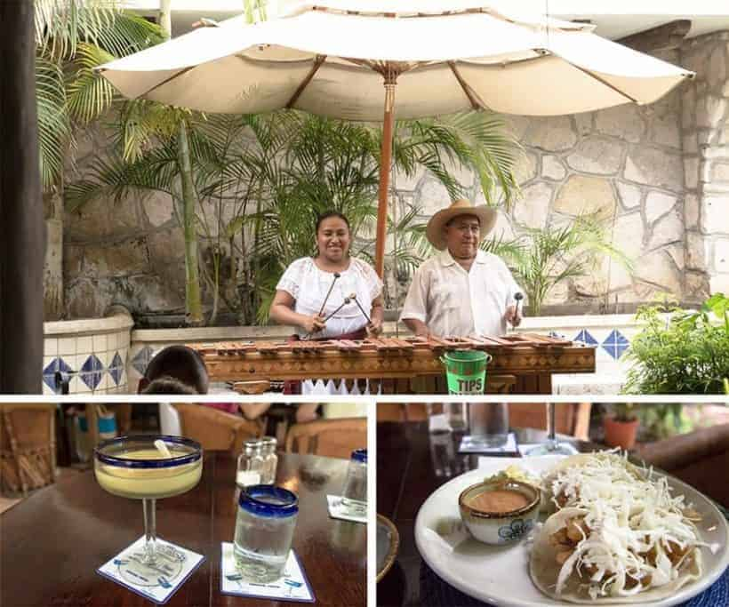 Mexican Food - Cozumel, Mexico