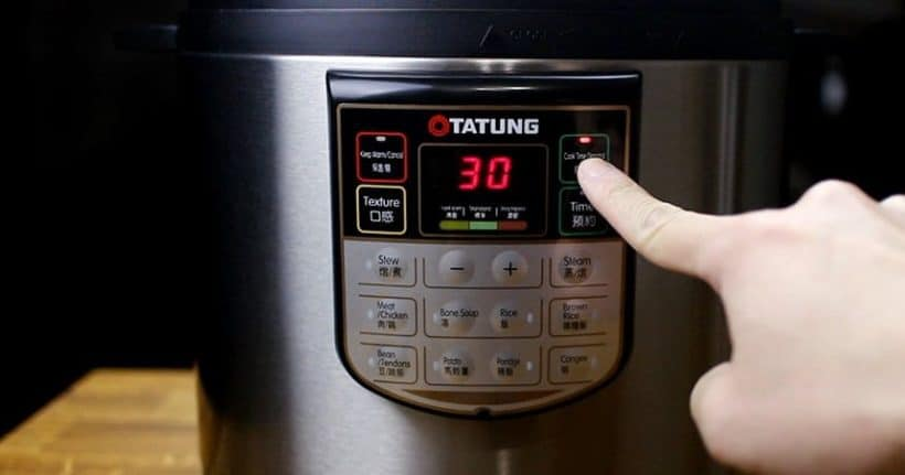 Tatung Electric Pressure Cooker - Pressure Cook Function
