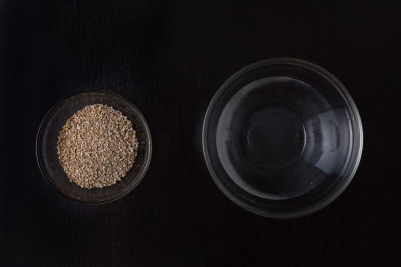 Instant Pot Steel Cut Oats Recipe (Pressure Cooker Steel Cut Oats) Ingredients
