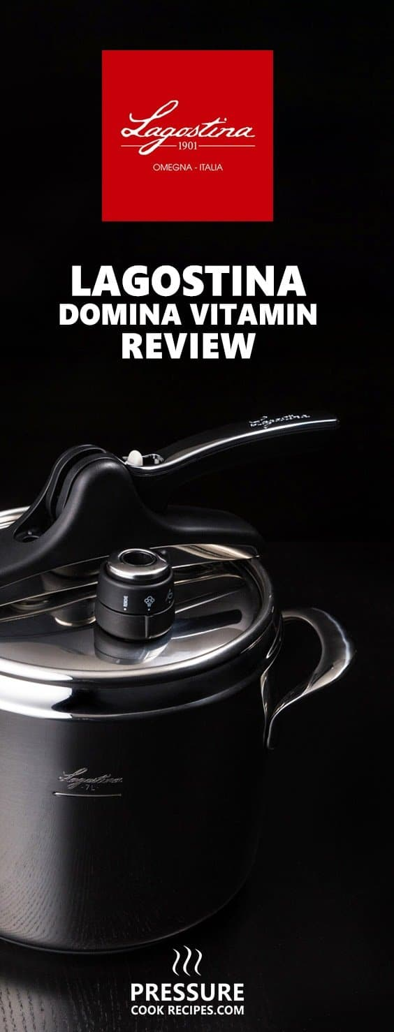 Lagostina Domina Vitamin Stovetop Pressure Cooker review