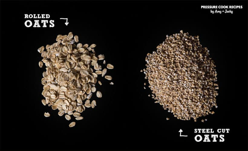 Steel Cut Oats vs. Rolled Oats