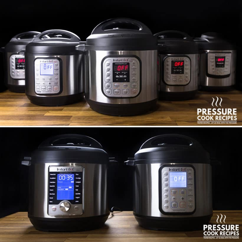Instant Pot Pressure Cookers