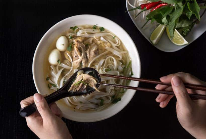 Instant Pot Pho Ga Recipe (Pressure Cooker Chicken Pho): Vietnamese Chicken Noodle Soup
