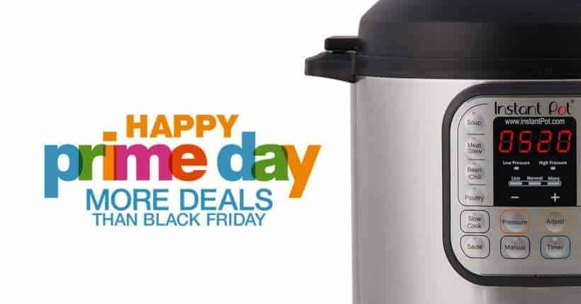 One Day Only Instant Pot Prime Day Deals is here! Time to buy Instant Pot Electric Pressure Cookers for yourself or as gifts. Don't miss out this year'sAmazon Prime Day!