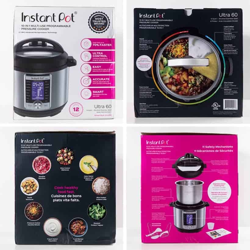 Instant Pot Ultra Electric Pressure Cooker Review Unboxing