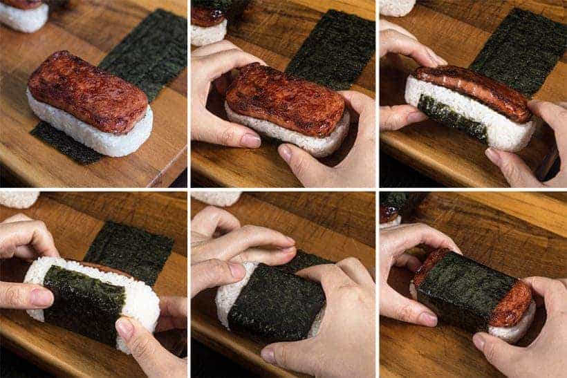 Learn how to make Hawaiian Spam Musubi Recipe. Ultimate comfort food spam sushi is super easy and quick to make!