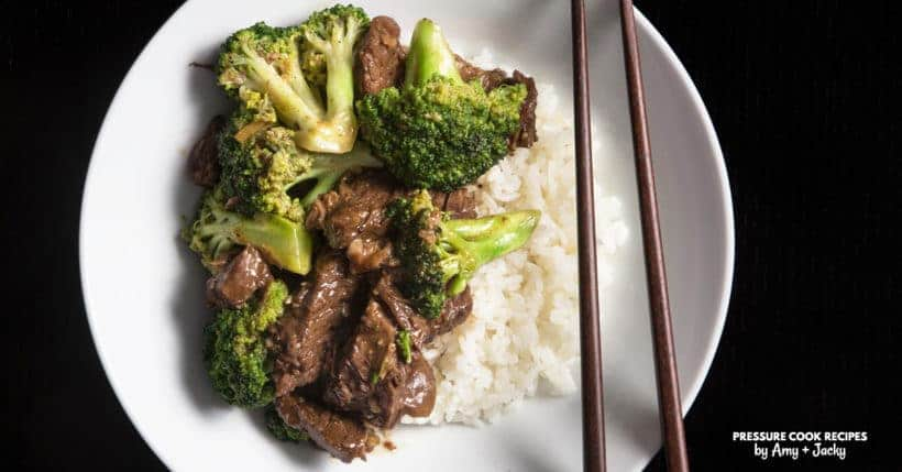 Classic Instant Pot Beef and Broccoli Recipe (Pressure Cooker Beef and Broccoli)