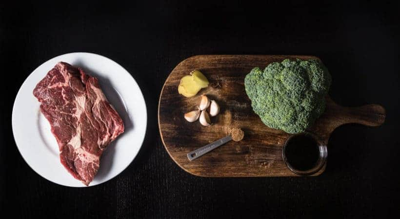 Make this Instant Pot Beef and Broccoli Recipe (Pressure Cooker Beef and Broccoli) Ingredients