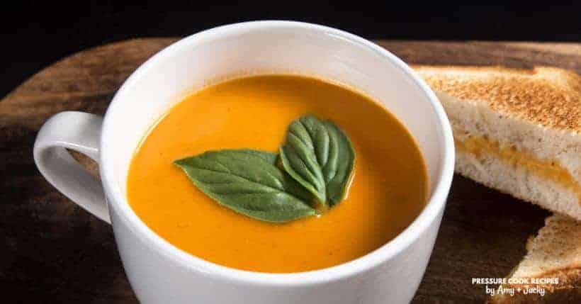 Instant Pot Tomato Soup | Pressure Cooker Tomato Soup | Instant Pot Soup | Pressure Cooker Soup