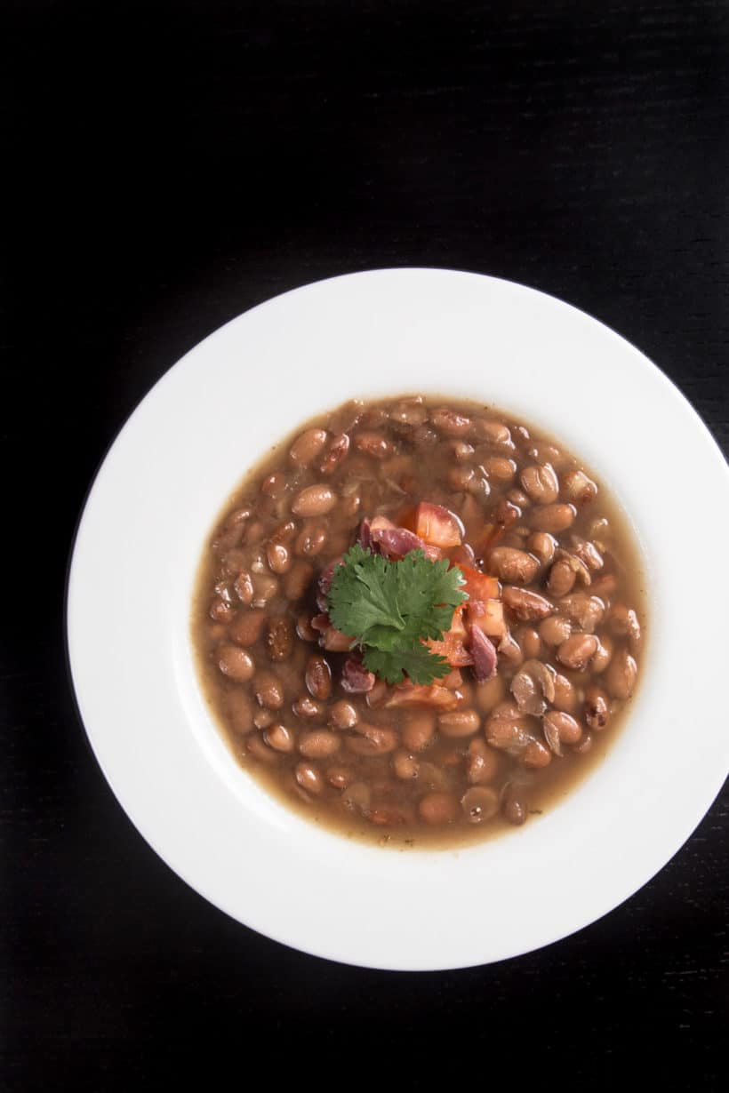 Instant Pot Ham and Bean Soup Recipe (Pressure Cooker Ham and Bean Soup): Learn how to make this ham and bean soup developed based on our pinto beans experiment with step by step instructions and Instant Pot Recipe Video.