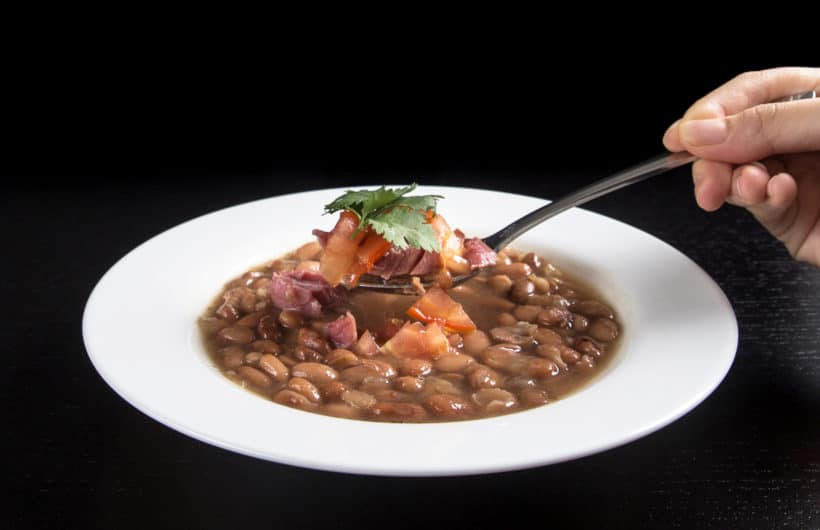 Instant Pot Ham and Bean Soup Recipe (Pressure Cooker Ham and Bean Soup): Learn how to make this ham and bean soup based on pinto beans experiment with step by step instructions.