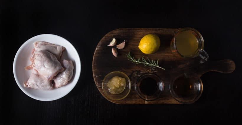 Instant Pot Lemon Chicken Recipe (Pressure Cooker Lemon Chicken) Ingredients