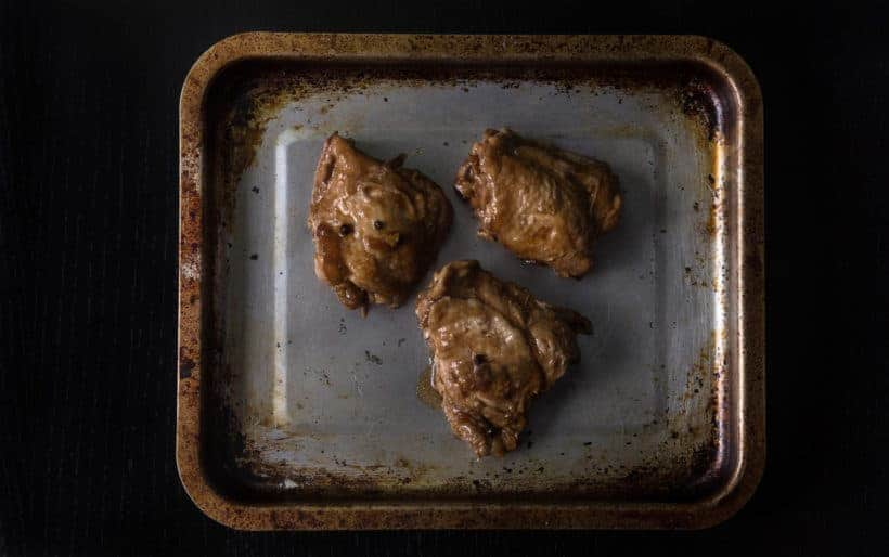 Instant Pot Chicken Adobo Recipe (Pressure Cooker Chicken Adobo): place chicken adobo under broiler to maximize flavor and crisp up the skin