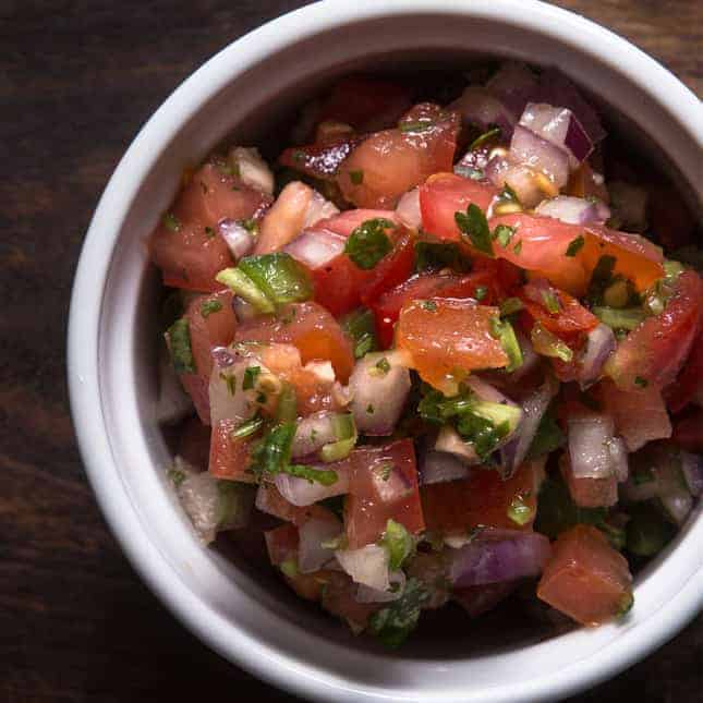 Instant Pot Homemade Food Gifts Recipes (Pressure Cooker Homemade Food Gifts Recipes): Homemade Salsa Pico de Gallo Recipe for DIY Christmas Holiday Gifts