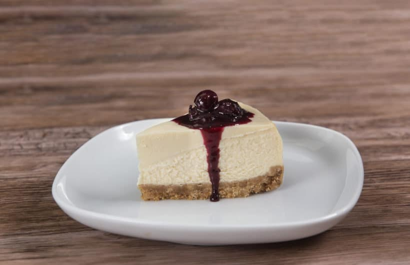 Instant Pot Blueberry Cheesecake Recipe (Pressure Cooker Blueberry Cheesecake)